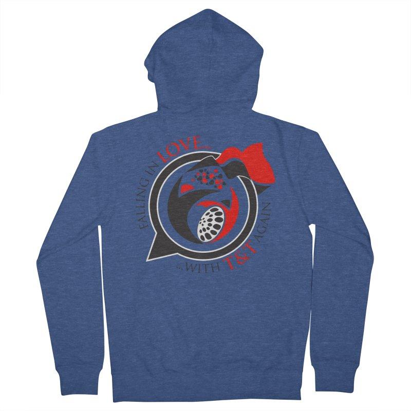Fallin in Love with TT Round Logo 3 Women's Zip-Up Hoody by WACK 90.1fm Merchandise Store
