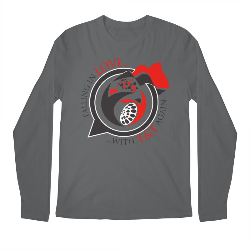 Fallin in Love with TT Round Logo 3 Men's Regular Longsleeve T-Shirt by WACK 90.1fm Merchandise Store