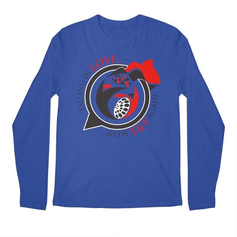 Fallin in Love with TT Round Logo 3 Men's Regular Longsleeve T-Shirt by WACK 90.1fm Merchandise Store