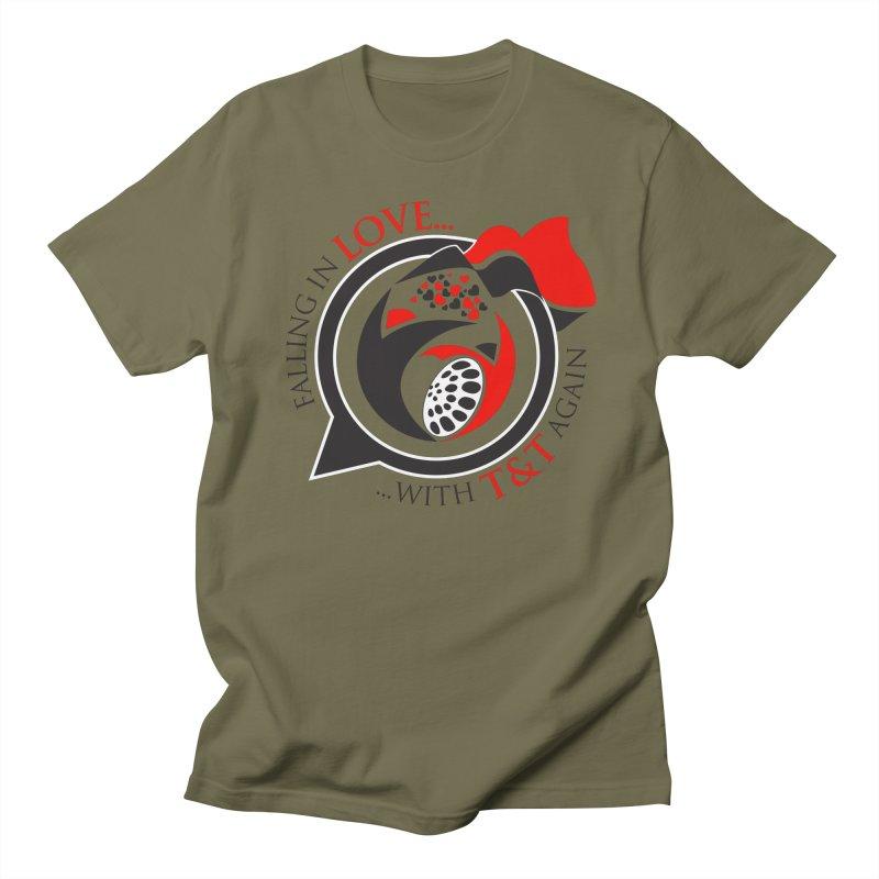 Fallin in Love with TT Round Logo 3 Women's Regular Unisex T-Shirt by WACK 90.1fm Merchandise Store