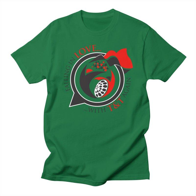 Fallin in Love with TT Round Logo 3 Women's Unisex T-Shirt by WACK 90.1fm Merchandise Store