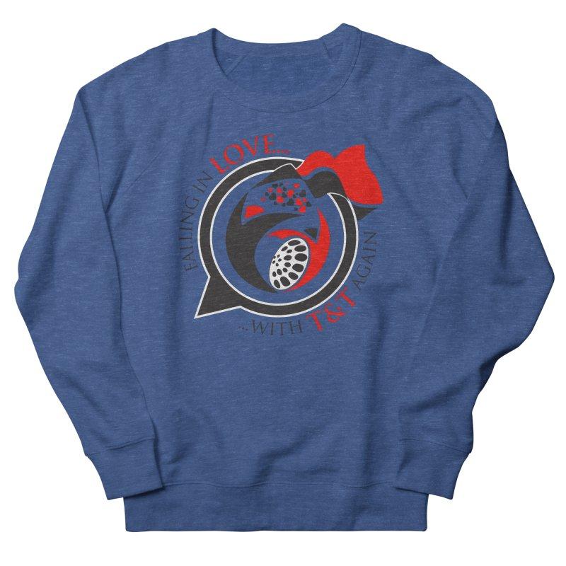 Fallin in Love with TT Round Logo 3 Men's French Terry Sweatshirt by WACK 90.1fm Merchandise Store
