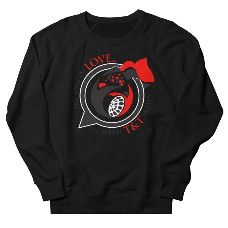 Fallin in Love with TT Round Logo 3 Men's French Terry Sweatshirt by WACK 90.1fm Merchandise Store