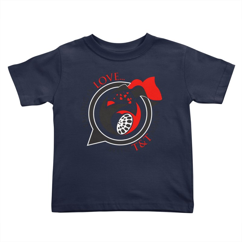 Fallin in Love with TT Round Logo 3 Kids Toddler T-Shirt by WACK 90.1fm Merchandise Store