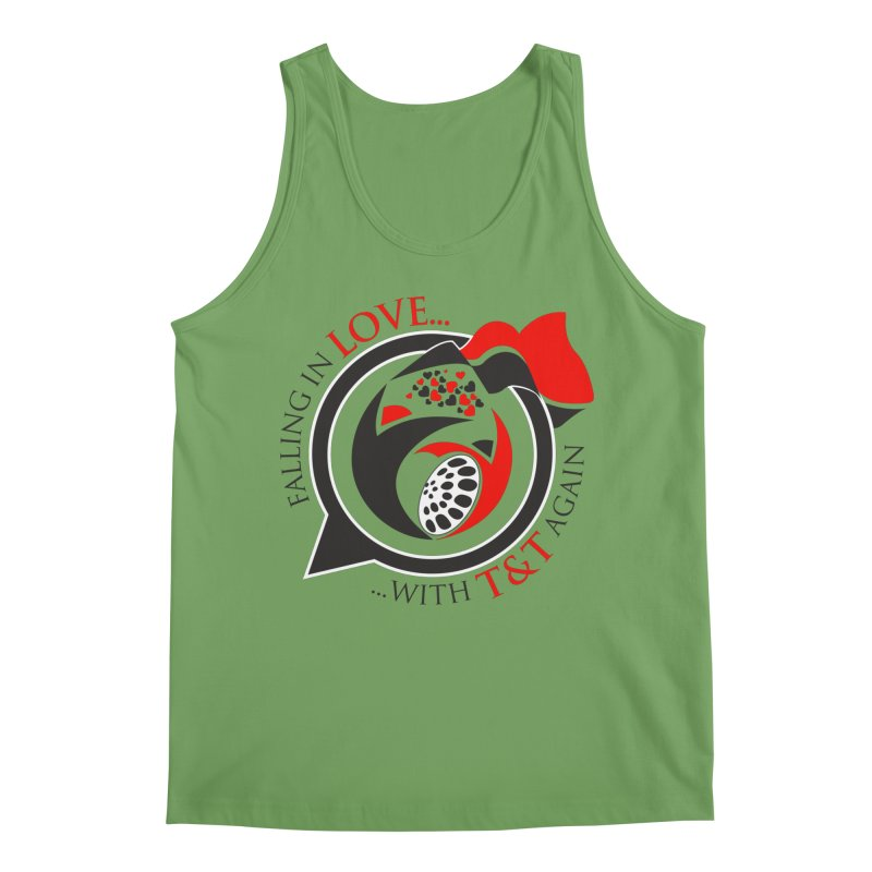 Fallin in Love with TT Round Logo 3 Men's Tank by WACK 90.1fm Merchandise Store