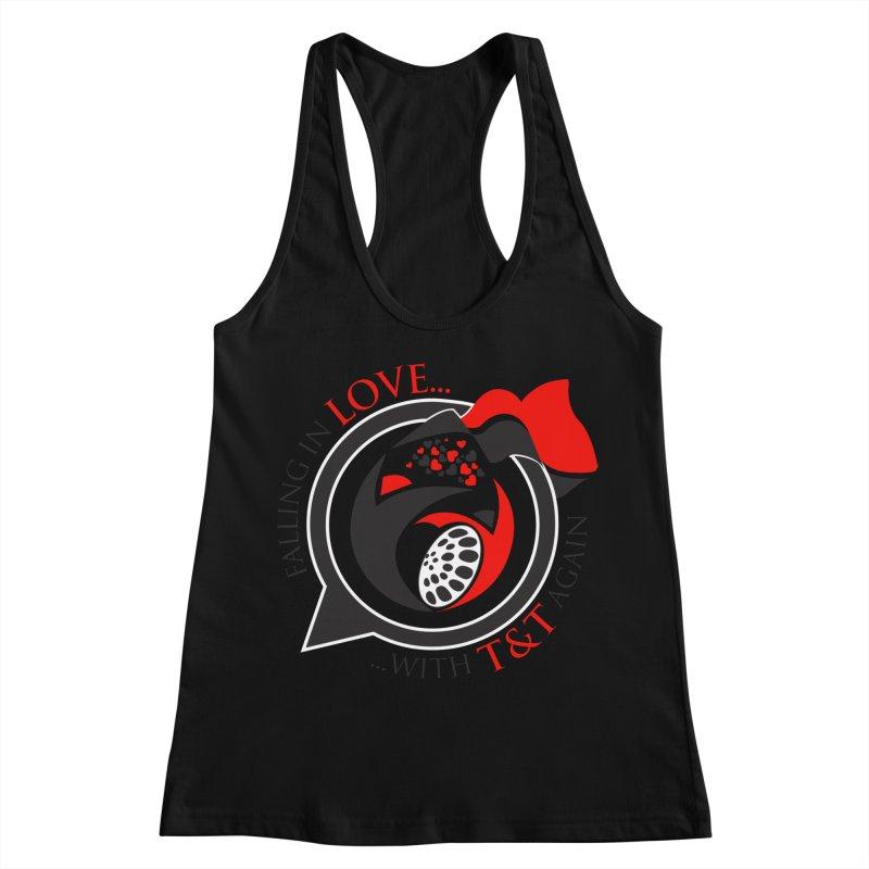 Fallin in Love with TT Round Logo 3 Women's Tank by WACK 90.1fm Merchandise Store