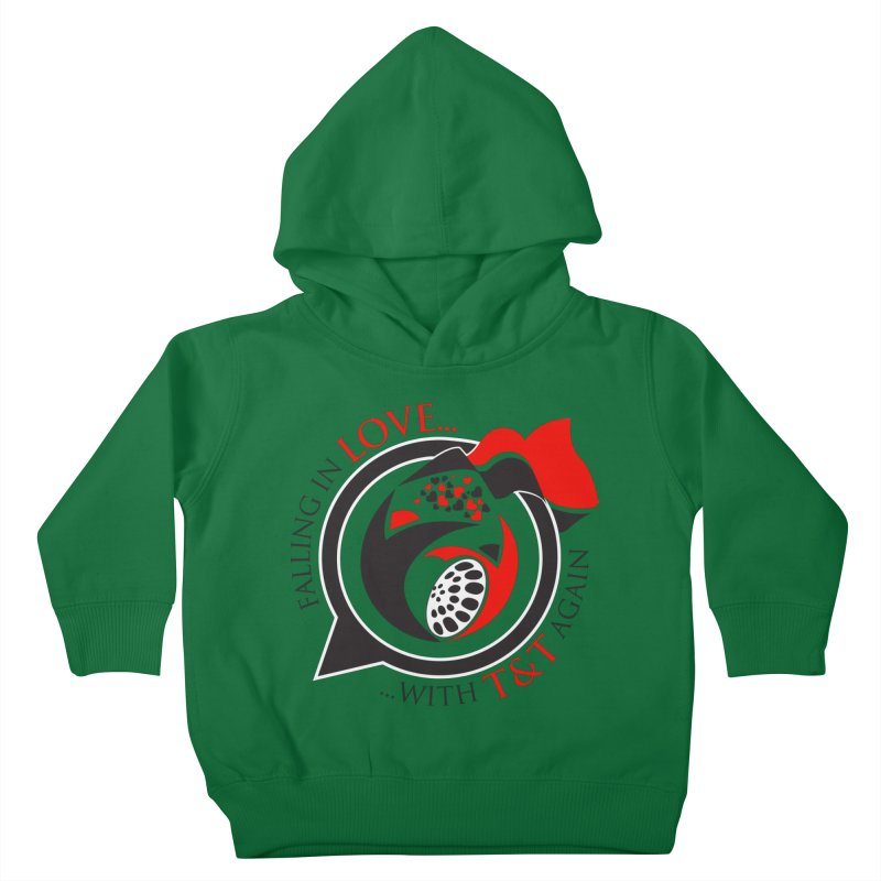 Fallin in Love with TT Round Logo 3 Kids Toddler Pullover Hoody by WACK 90.1fm Merchandise Store