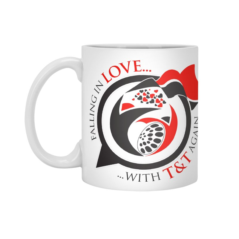 Fallin in Love with TT Round Logo 3 Accessories Standard Mug by WACK 90.1fm Merchandise Store