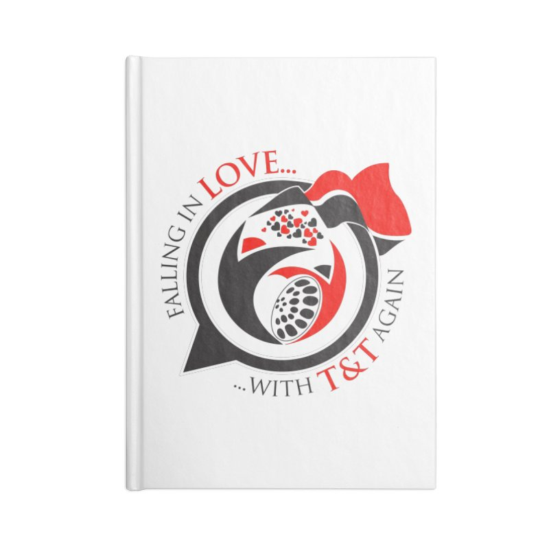 Fallin in Love with TT Round Logo 3 Accessories Blank Journal Notebook by WACK 90.1fm Merchandise Store