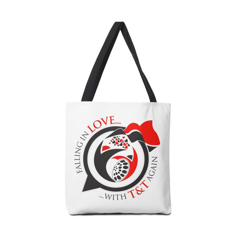 Fallin in Love with TT Round Logo 3 Accessories Tote Bag Bag by WACK 90.1fm Merchandise Store