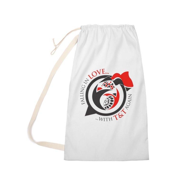 Fallin in Love with TT Round Logo 3 Accessories Bag by WACK 90.1fm Merchandise Store
