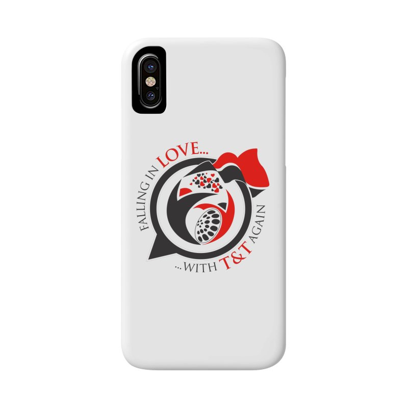 Fallin in Love with TT Round Logo 3 Accessories Phone Case by WACK 90.1fm Merchandise Store