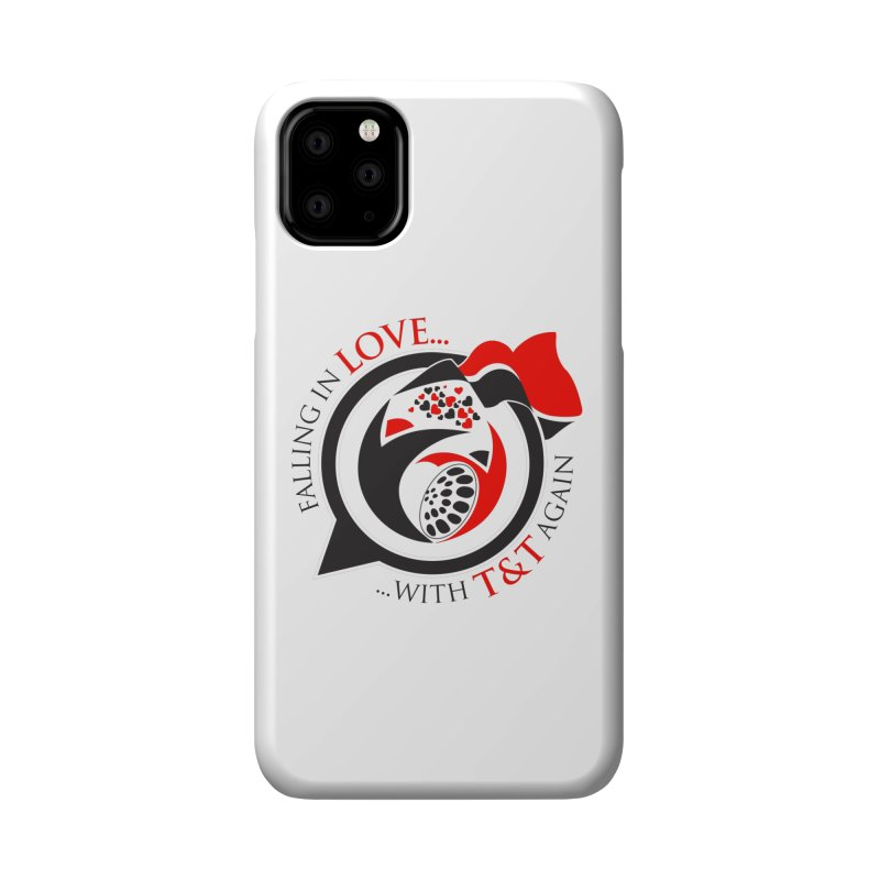 Fallin in Love with TT Round Logo 3 Accessories Phone Case by WACK 90.1fm Merchandise Store