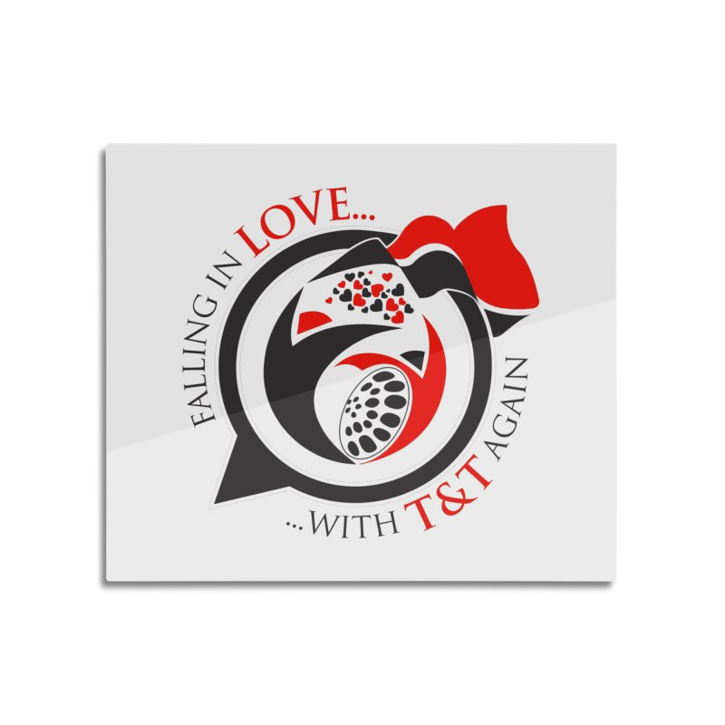 Fallin in Love with TT Round Logo 3 Home Mounted Acrylic Print by WACK 90.1fm Merchandise Store