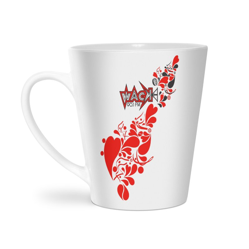 WACK 90.1fm Falling in Love - All Hearts and WACK Logo Accessories Mug by WACK 90.1fm Merchandise Store