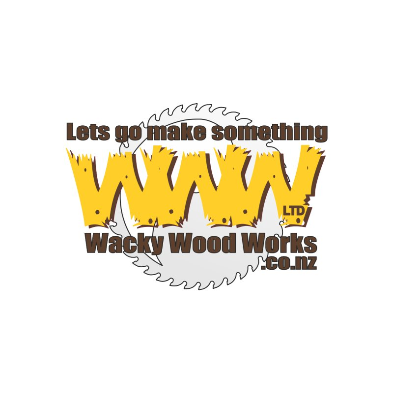 Logo Men's T-Shirt by Wacky Wood Works's Shop
