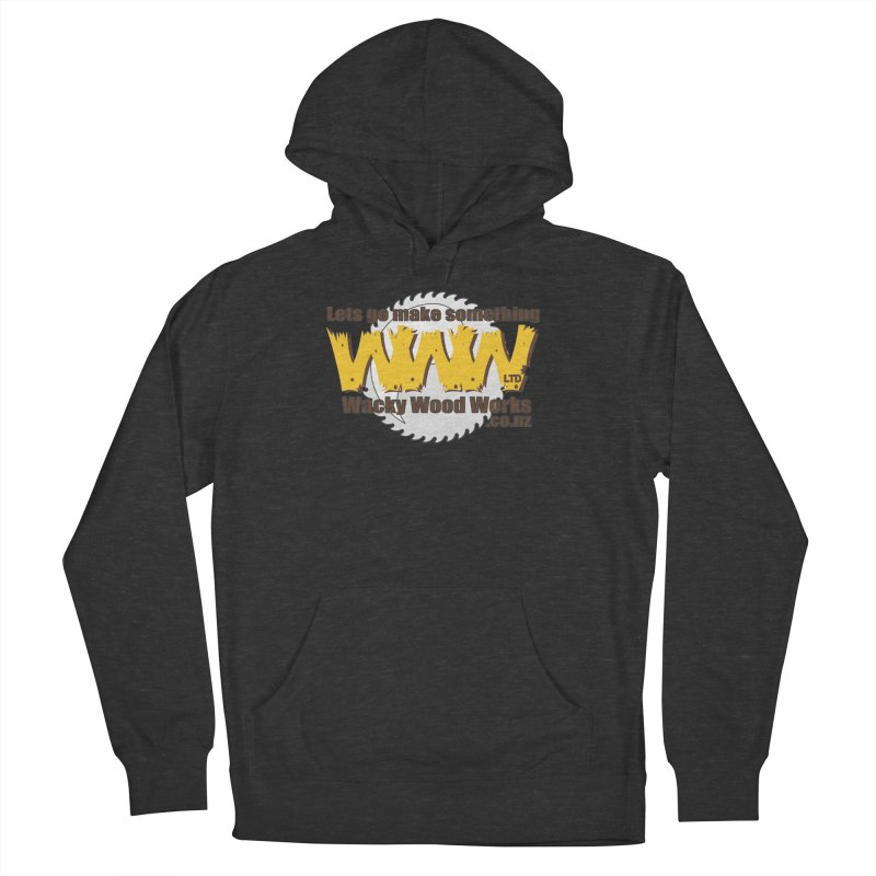 Logo Men's Pullover Hoody by Wacky Wood Works's Shop