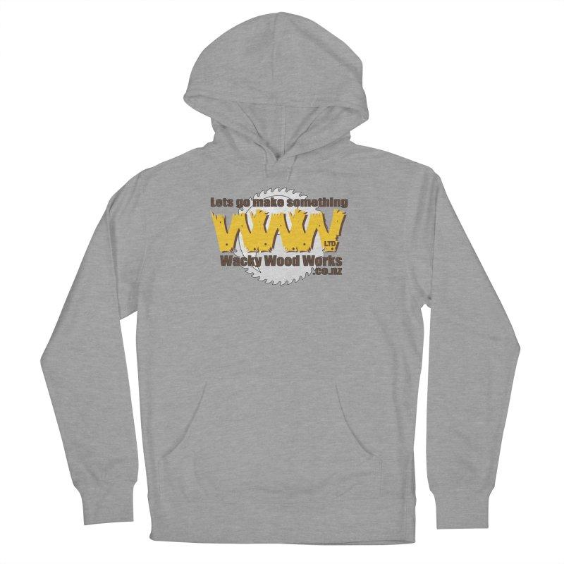 Logo Men's Pullover Hoody by Wacky Wood Works's Shop