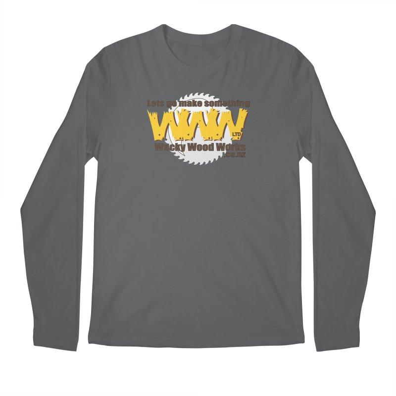 Logo Men's Longsleeve T-Shirt by Wacky Wood Works's Shop