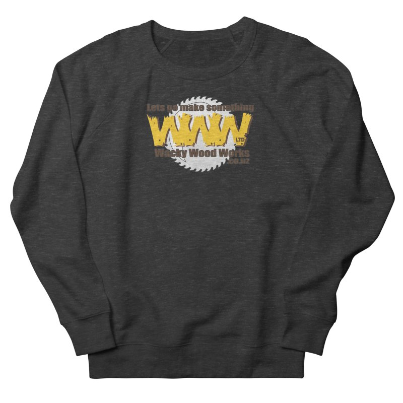 Logo Men's Sweatshirt by Wacky Wood Works's Shop