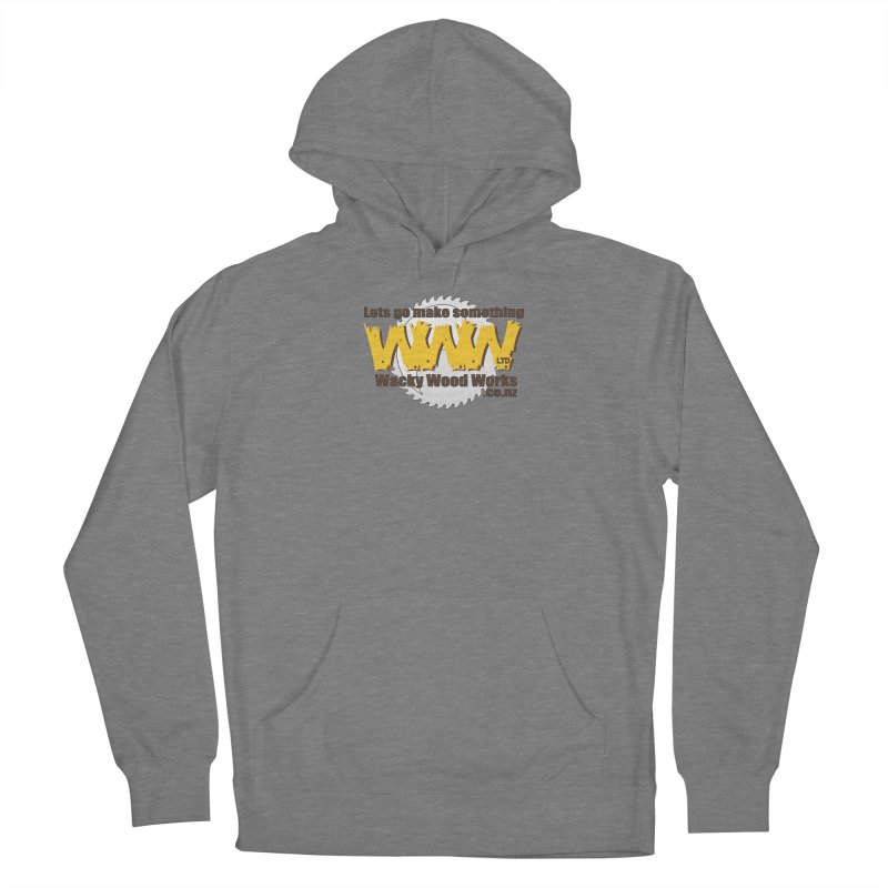 Logo Women's Pullover Hoody by Wacky Wood Works's Shop