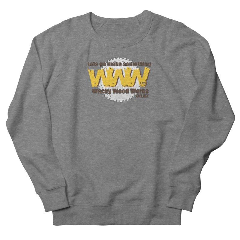 Logo Men's Sweatshirt by Wacky Wood Works's Shop