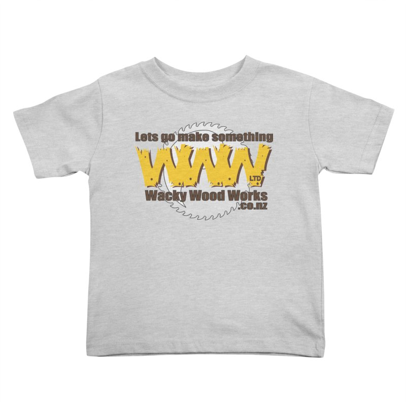 Logo Kids Toddler T-Shirt by Wacky Wood Works's Shop