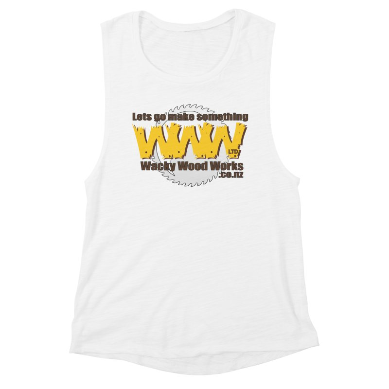 Logo Women's Tank by Wacky Wood Works's Shop