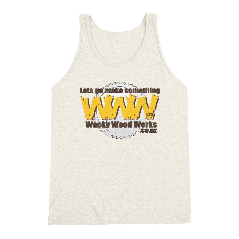 Logo Men's Tank by Wacky Wood Works's Shop