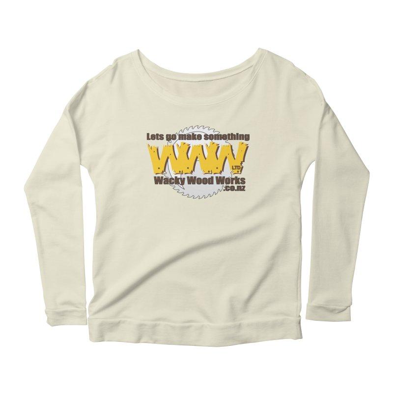 Logo Women's Longsleeve T-Shirt by Wacky Wood Works's Shop