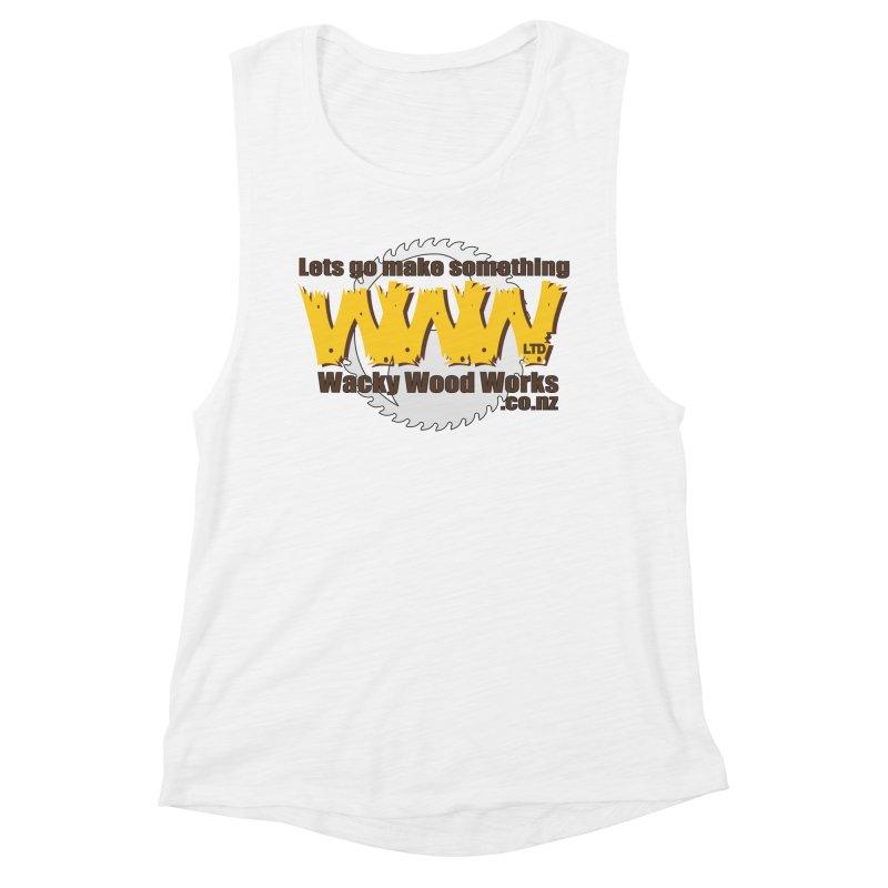 Logo Women's Tank by Wacky Wood Works's Shop