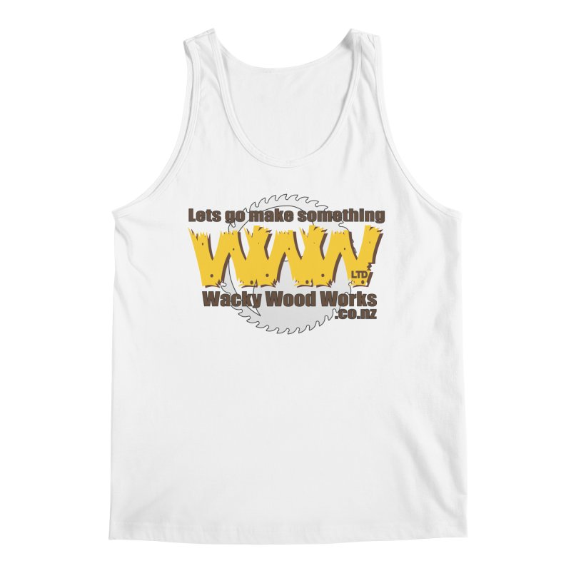 Logo Men's Tank by Wacky Wood Works's Shop