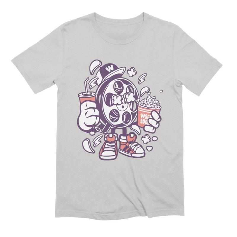 Movie Night Men's T-Shirt by WackyToonz