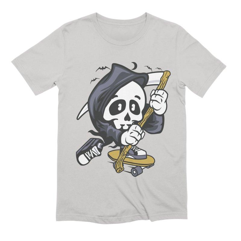Skate Or Die Men's T-Shirt by WackyToonz