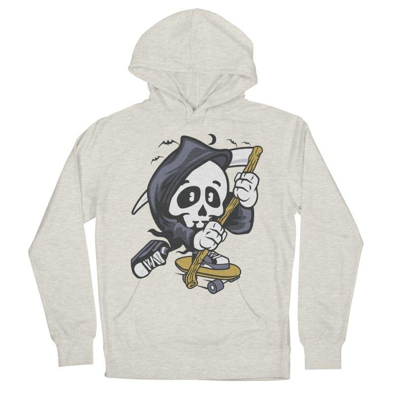 Skate Or Die Men's Pullover Hoody by WackyToonz
