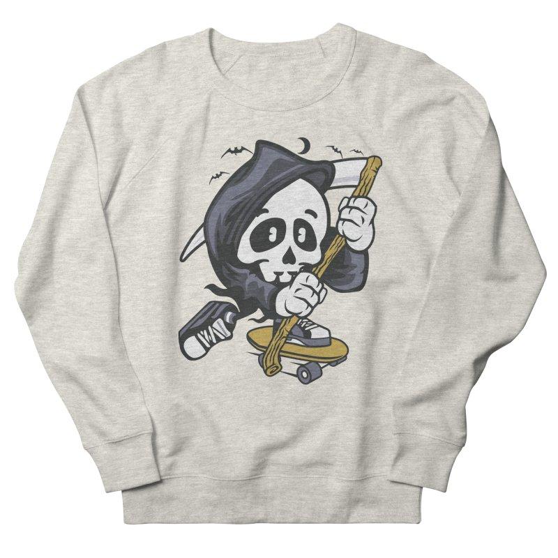 Skate Or Die Men's Sweatshirt by WackyToonz
