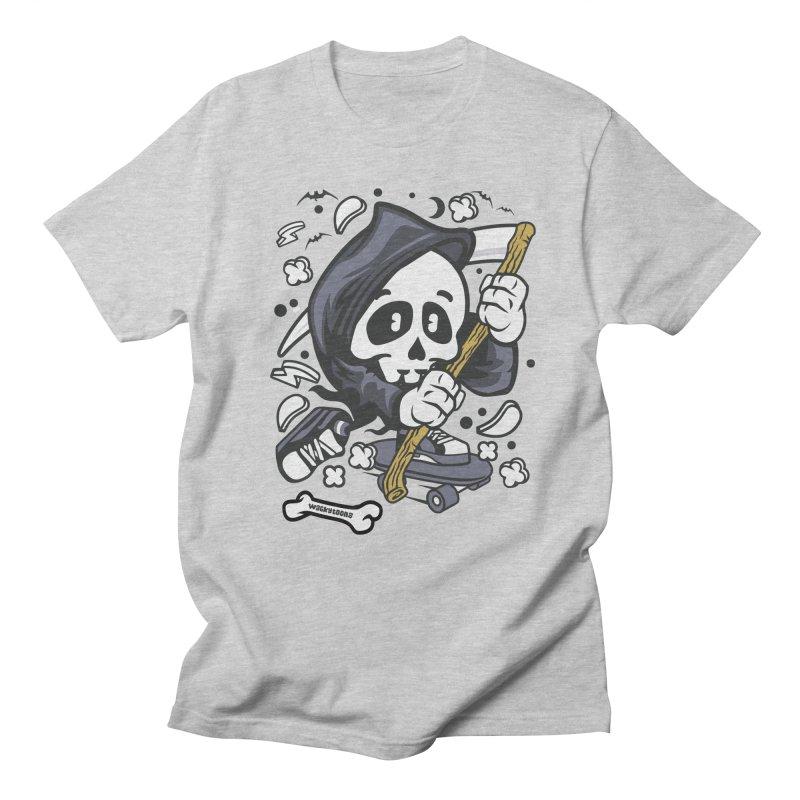 Skate Or Die Women's Regular Unisex T-Shirt by WackyToonz