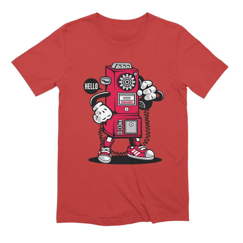 Incoming Call Men's T-Shirt by WackyToonz