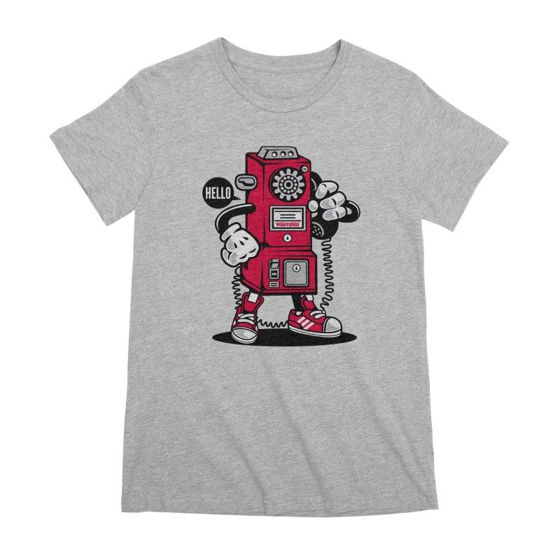 Incoming Call Women's Premium T-Shirt by WackyToonz