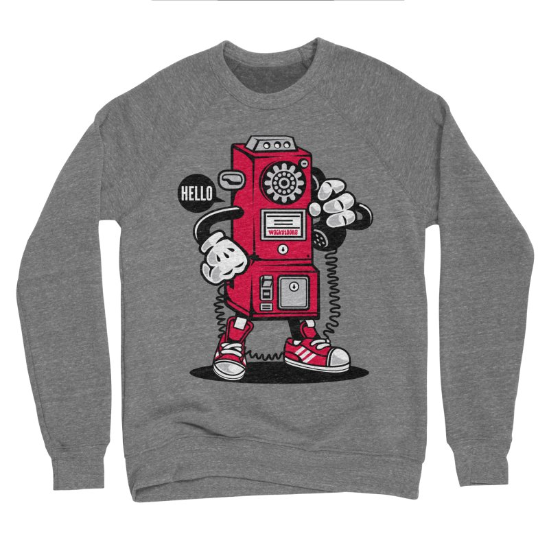 Incoming Call Women's Sponge Fleece Sweatshirt by WackyToonz