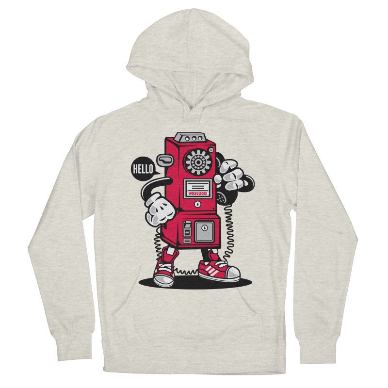 Incoming Call Women's French Terry Pullover Hoody by WackyToonz