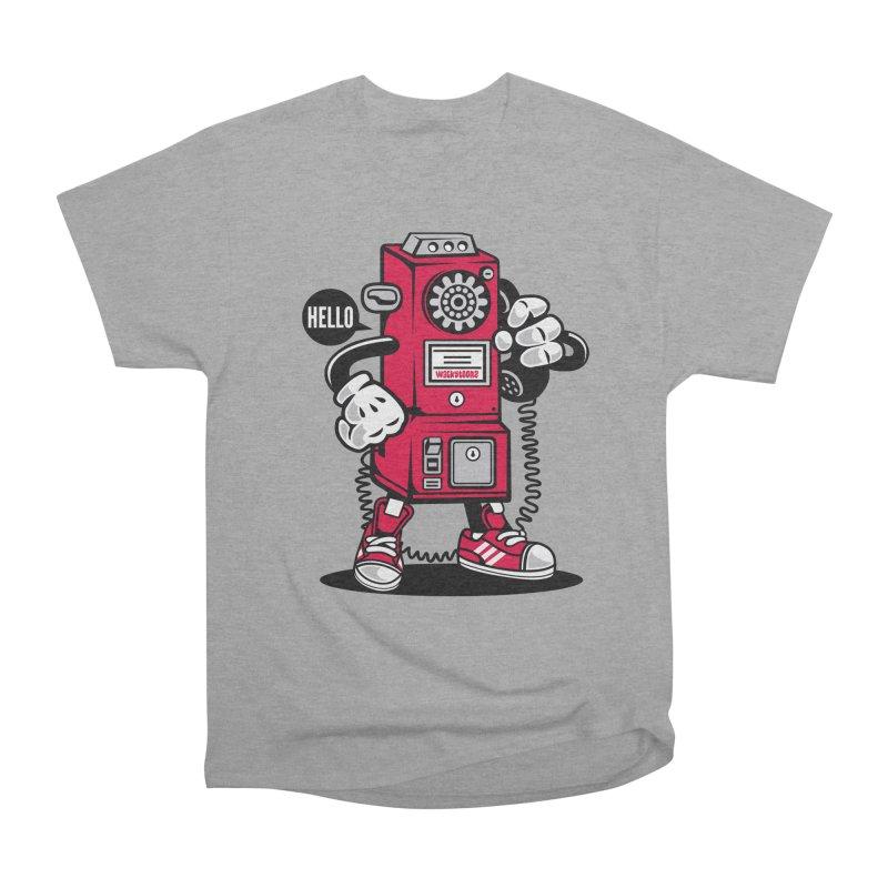 Incoming Call Women's Heavyweight Unisex T-Shirt by WackyToonz