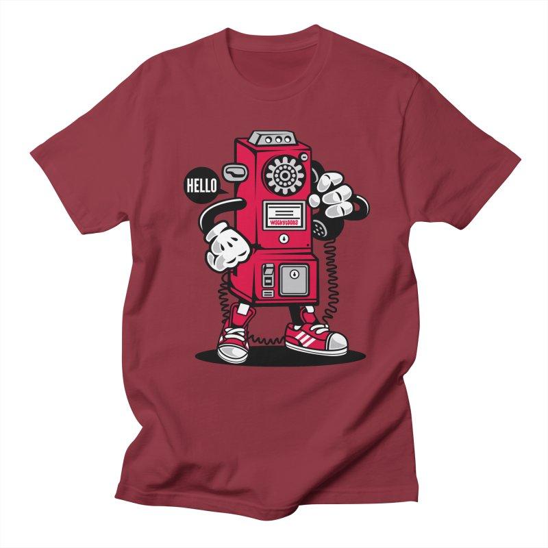 Incoming Call Women's Regular Unisex T-Shirt by WackyToonz