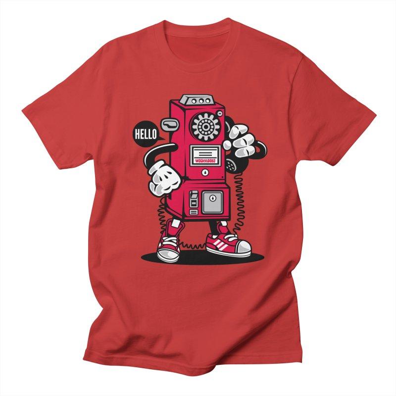 Incoming Call Men's Regular T-Shirt by WackyToonz