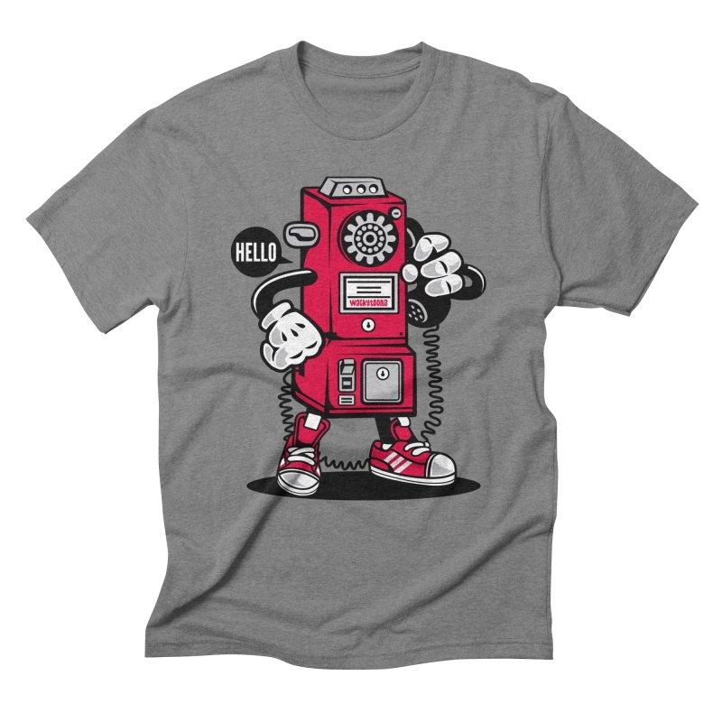 Incoming Call Men's Triblend T-Shirt by WackyToonz