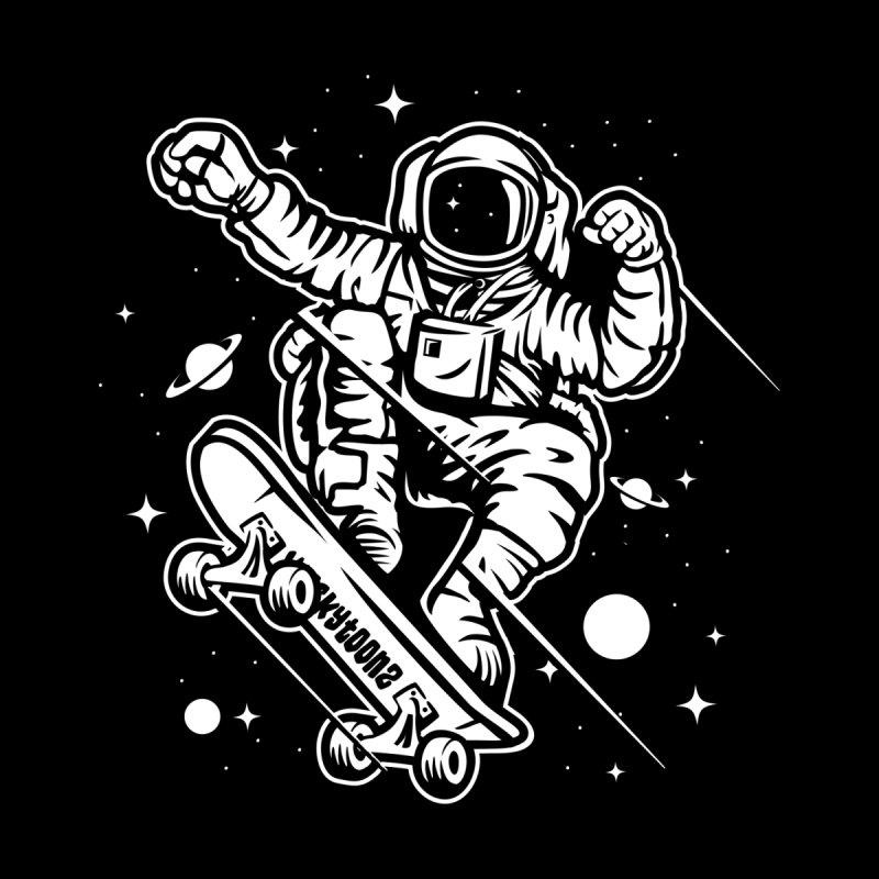 Skate Space Men's T-Shirt by WackyToonz