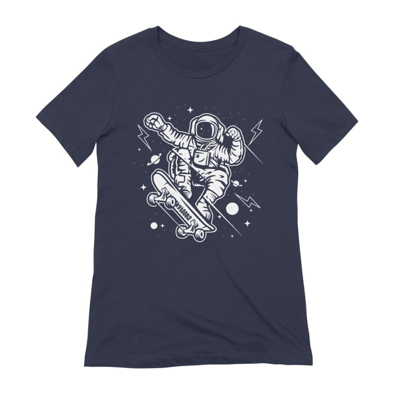 Skate Space Women's Extra Soft T-Shirt by WackyToonz