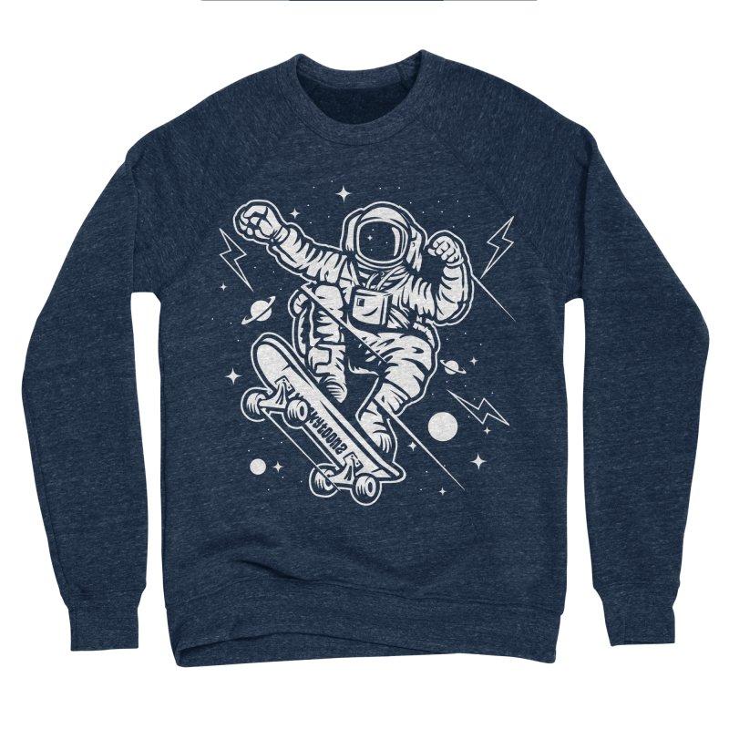 Skate Space Women's Sponge Fleece Sweatshirt by WackyToonz