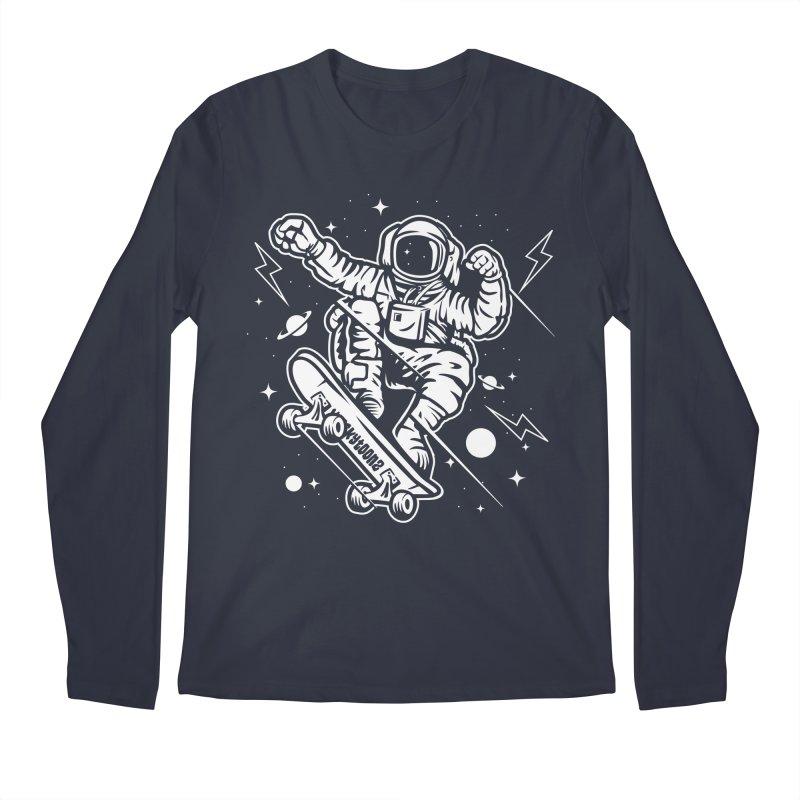 Skate Space Men's Regular Longsleeve T-Shirt by WackyToonz