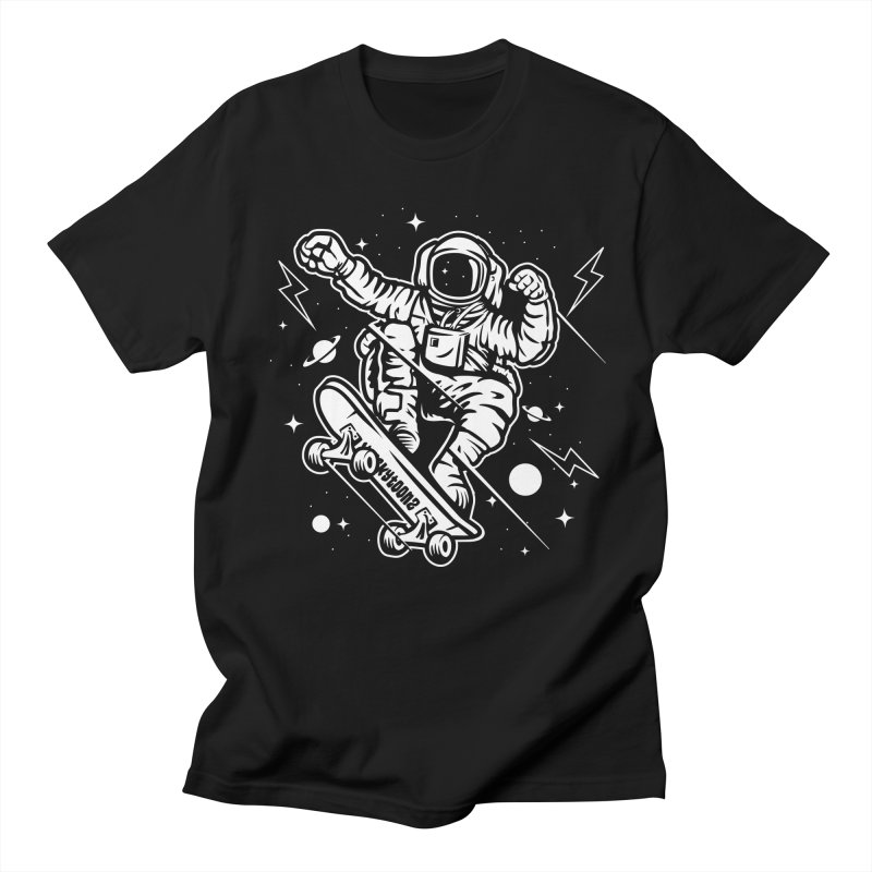 Skate Space Men's Regular T-Shirt by WackyToonz